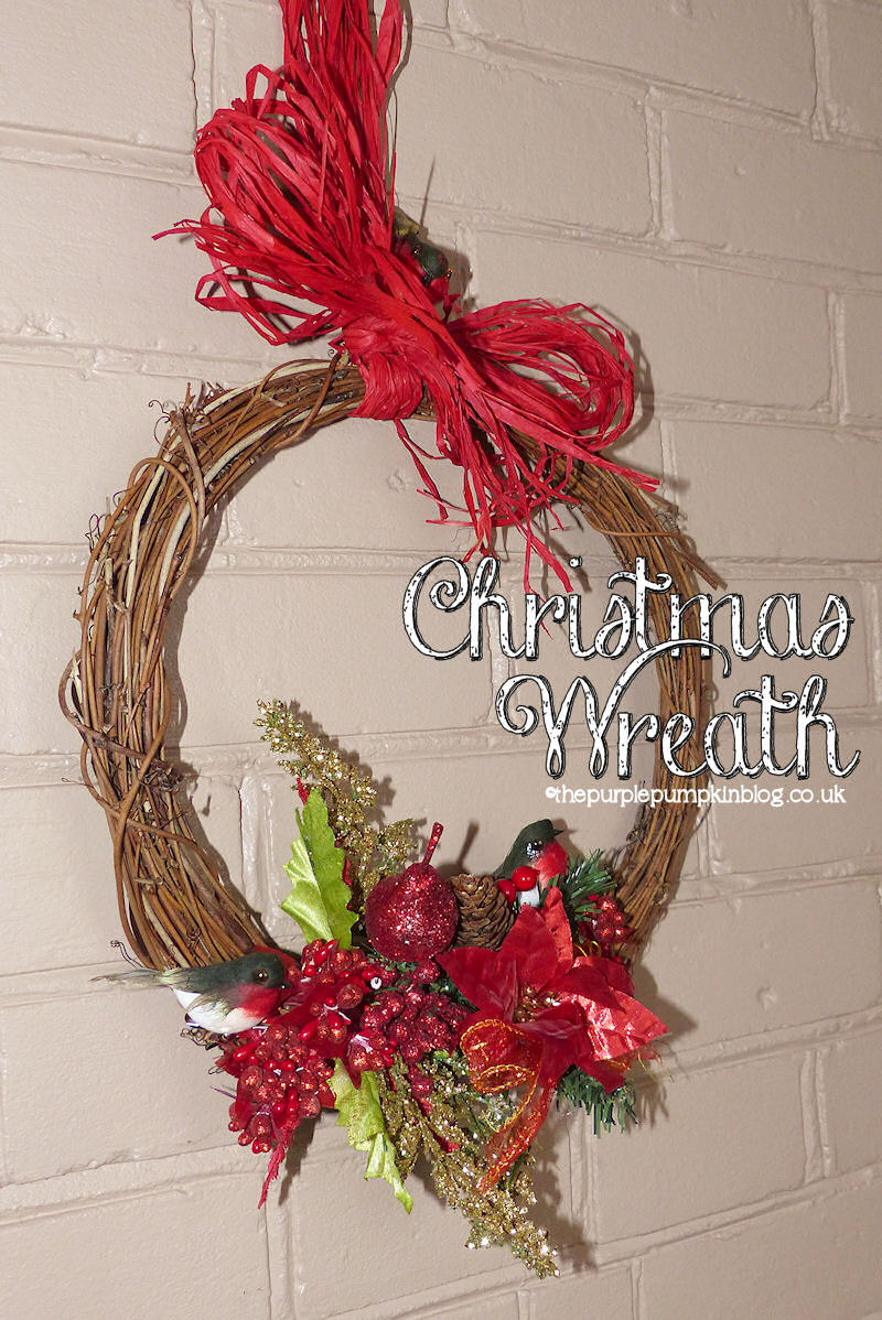how to make christmas wreaths with foam ring