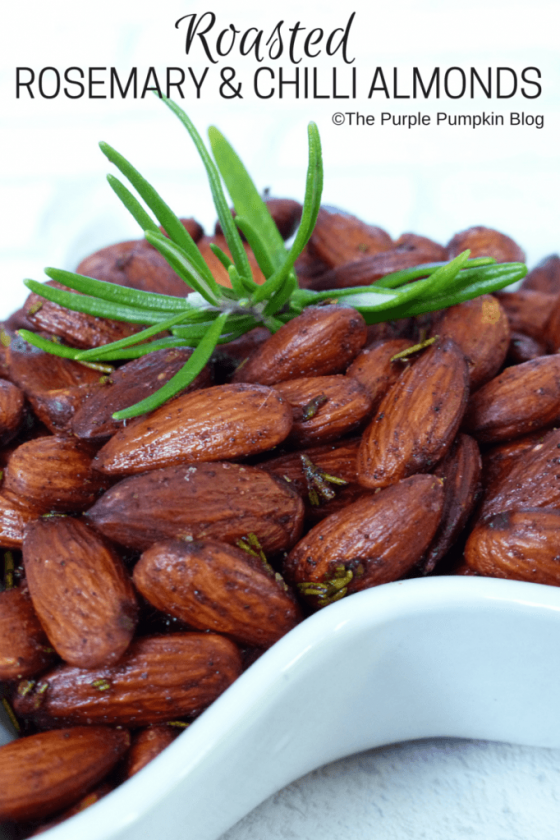 Roasted Rosemary Chilli Almonds