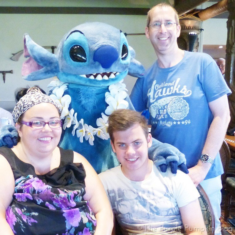 Stitch at'Ohana Character Breakfast