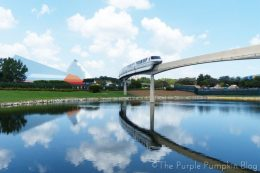 Epcot Future World - Monorail
