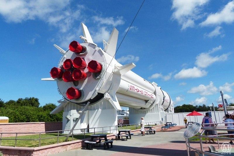 Rocket Garden at Kennedy Space Center