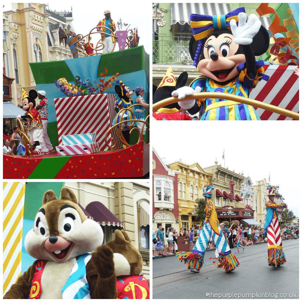Move It! Shake It! Celebrate It! Street Party Parade at Magic Kingdom