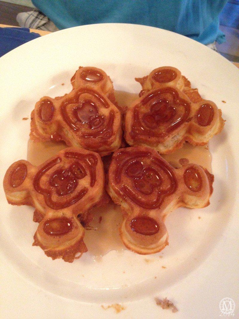 Mickey Waffles at Olivia's Cafe Breakfast at Old Key West