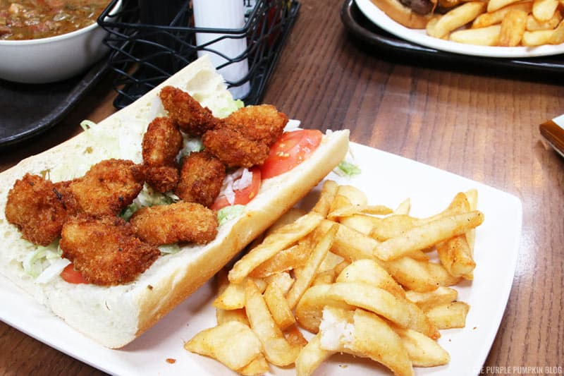 Po' Boy and Fries
