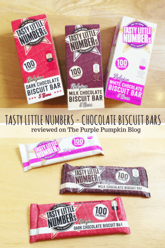 Tasty Little Numbers Chocolate Biscuit Bars Review