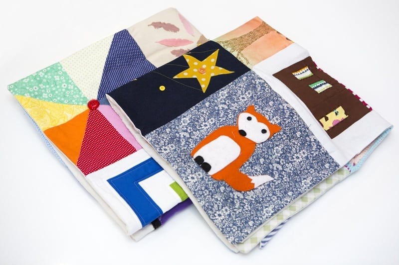 Craft the Parcel Bloggers Quilts