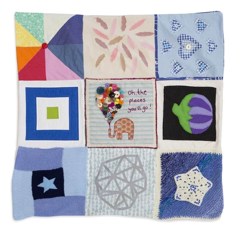 Craft the Parcel Bloggers Quilt
