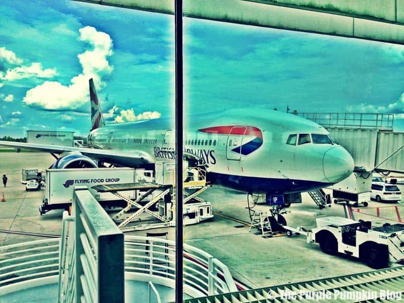 British Airways at Orlando International Airport MCO