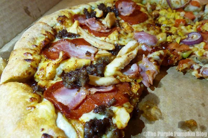 A Family Night With Domino's Pizza
