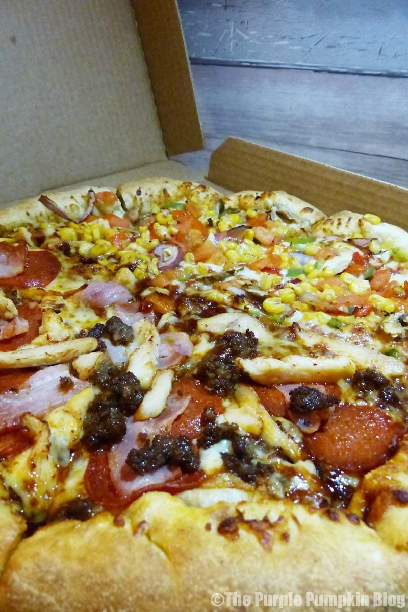 A Family Night With Domino's Pizza » The Purple Pumpkin Blog