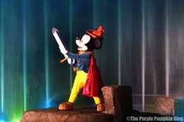 Fantasmic at Disney Hollywood Studios