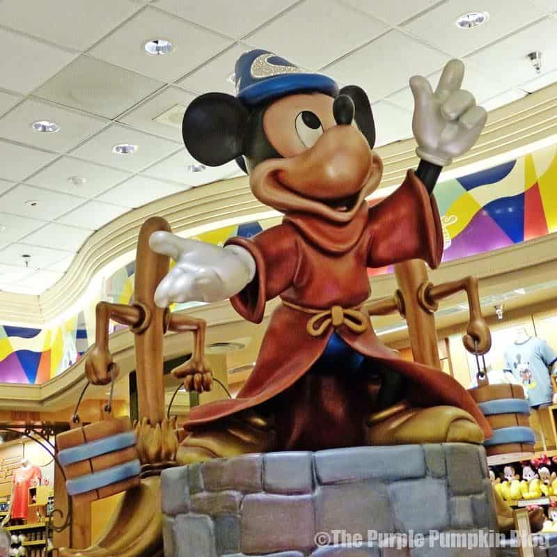 Mickey Mouse Statue at Disney Hollywood Studios