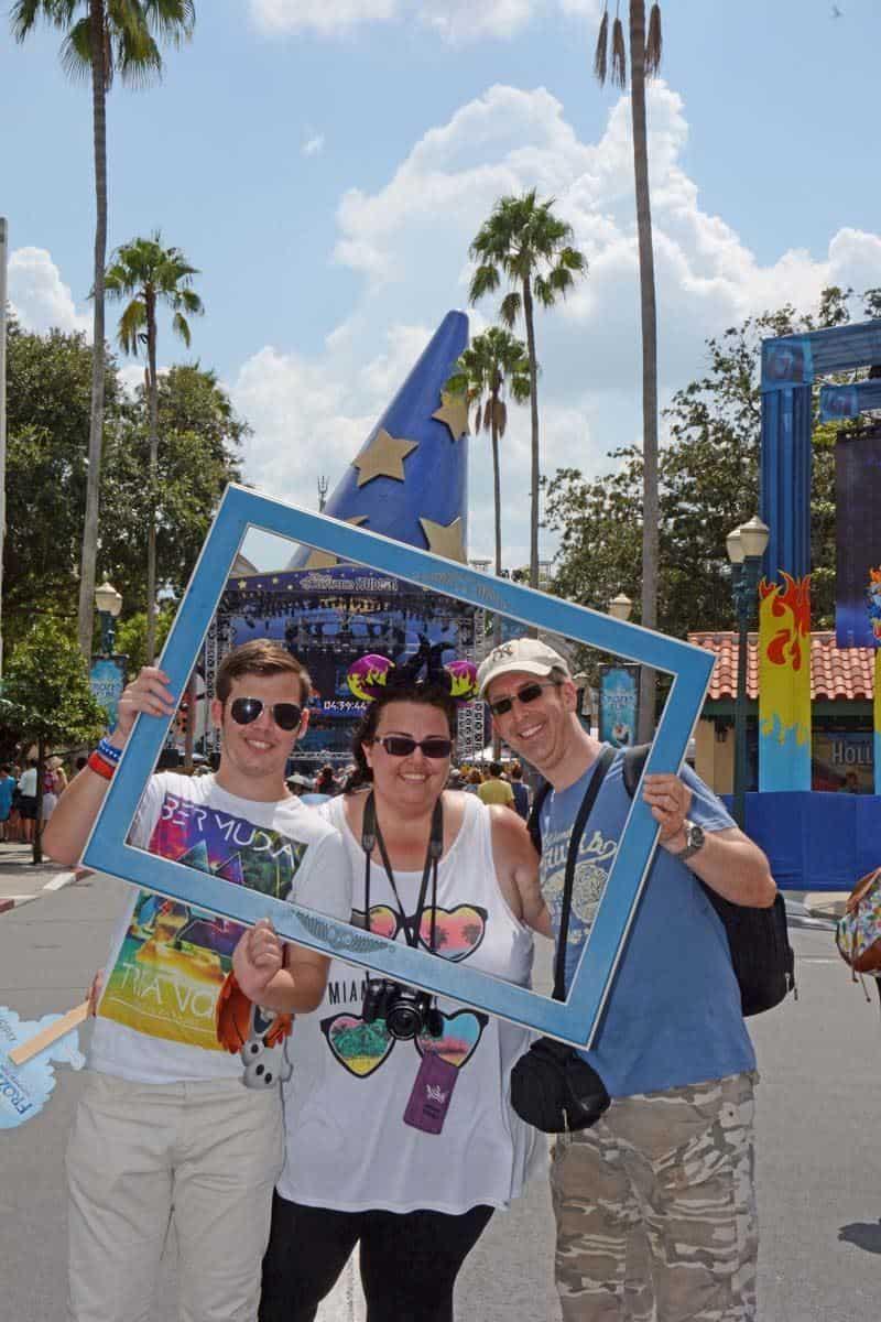 Us at Disney Hollywood Studios