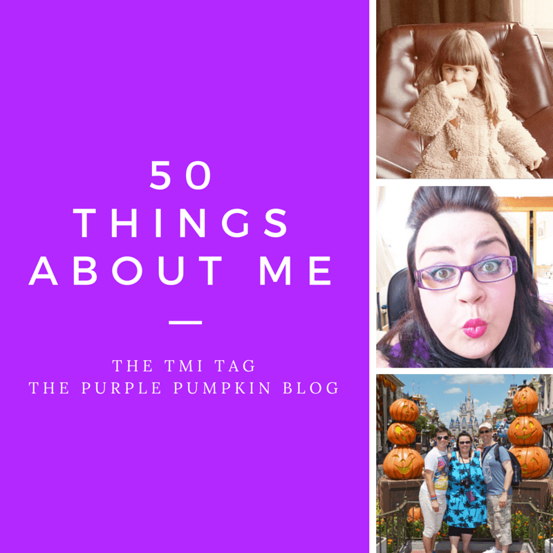 50 Things About Me
