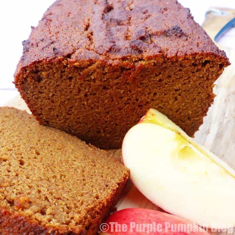 Gluten Free + Paleo Spiced Apple Loaf 2
