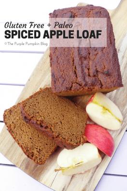 Gluten Free + Paleo Spiced Apple Loaf