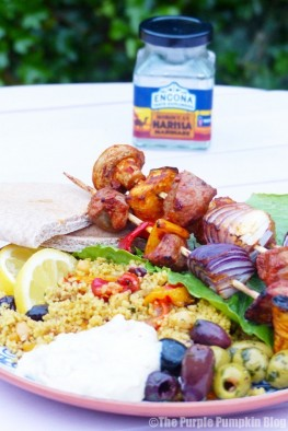 Harissa Lamb Kebabs + Jamaican Jerk Chicken Drumsticks
