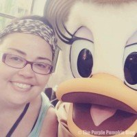 Me with Daisy Duck at Tusker House