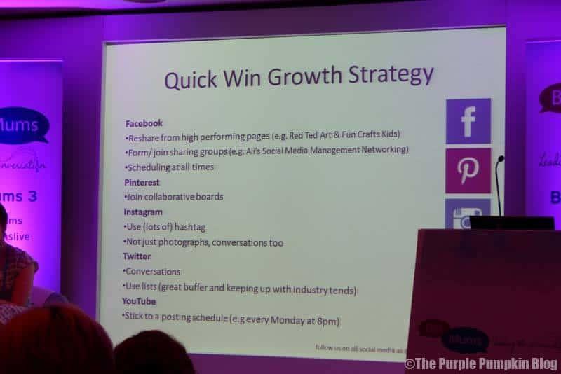 Social Media Growth Strategy