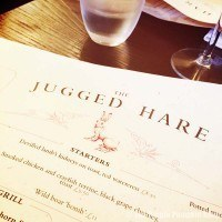 The Jugged Hare - Menu