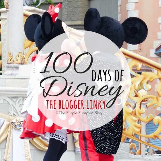 100 Days of Disney - The Blogger Linky