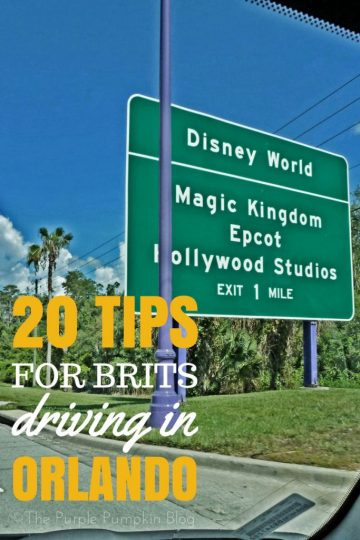 20 Tips for Brits Driving in Orlando - don't be daunted at the prospect of driving to Walt Disney World and the other theme parks in Orlando, Florida, read these 20 tips to understand the rules of the road. A must pin if visiting Orlando on holiday!
