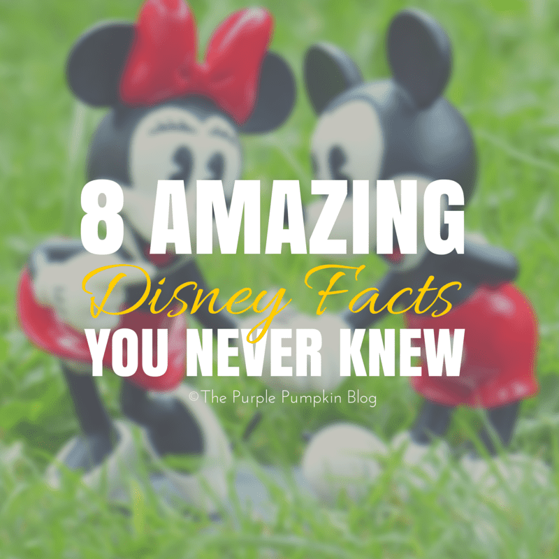 8 Amazing Disney Facts You Never Knew 2