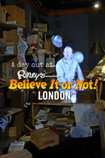 A day out at Ripley's Believe It Or Not, London
