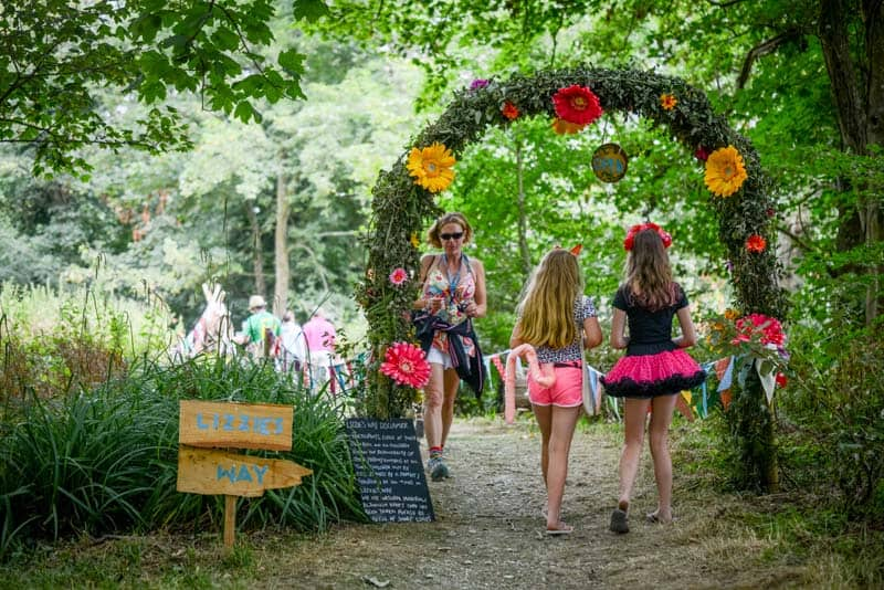 Camp Bestival - Lizzies Way