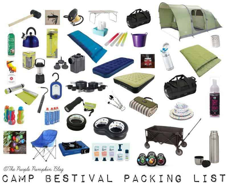 Camp Bestival Packing List – As First Timers!