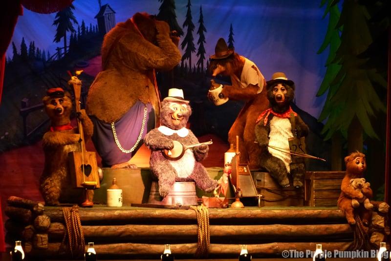 Country Bear Jamboree - Frontierland, Magic Kingdom, Walt Disney World (19)
