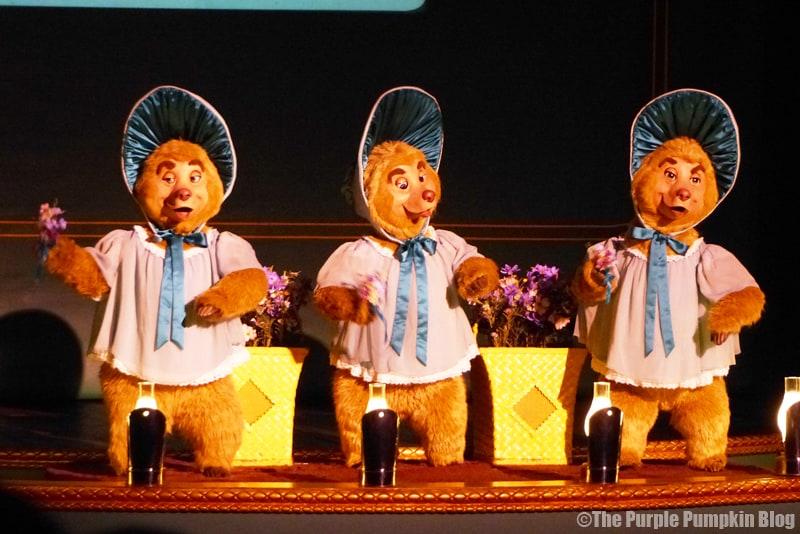 Country Bear Jamboree - Frontierland, Magic Kingdom, Walt Disney World - The Sun Bonnet Trio