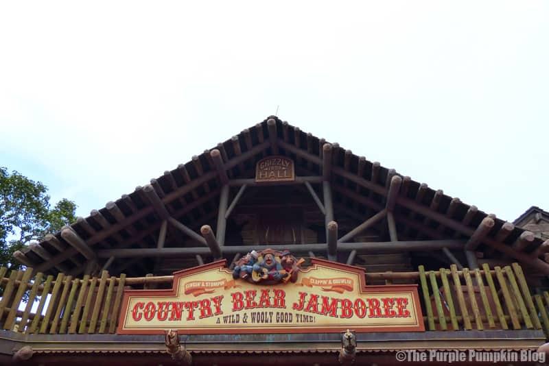 Country Bear Jamboree - Frontierland, Magic Kingdom, Walt Disney World