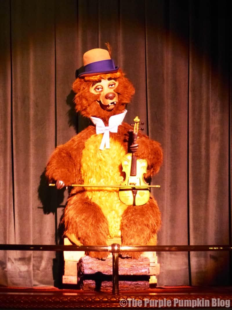 Country Bear Jamboree - Frontierland, Magic Kingdom, Walt Disney World - Ernest