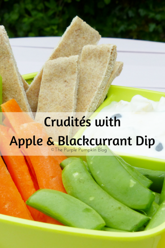 Crudités with Apple