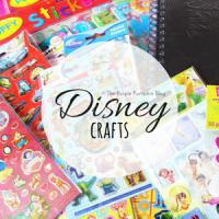 Disney Crafts on The Purple Pumpkin Blog