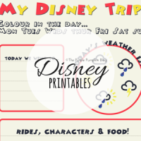 Disney Printables on The Purple Pumpkin Blog