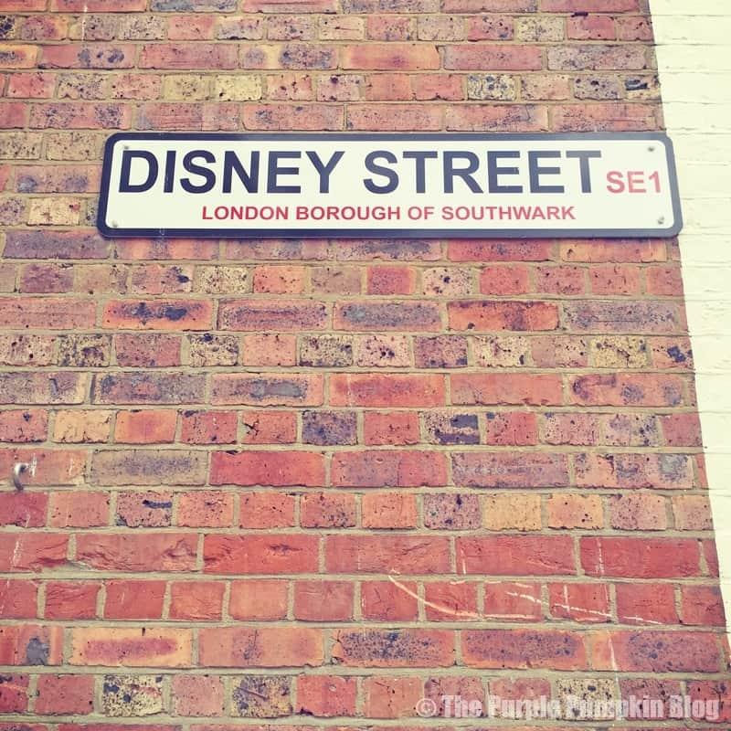 Disney Street Sign