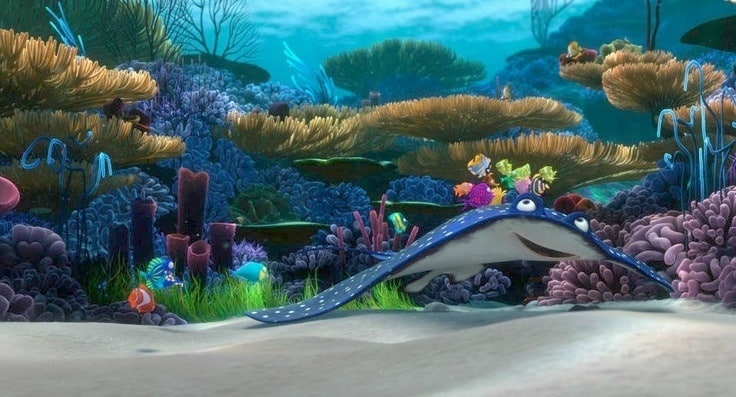 Finding Nemo Characters Mr Ray Finding Nemo - ...