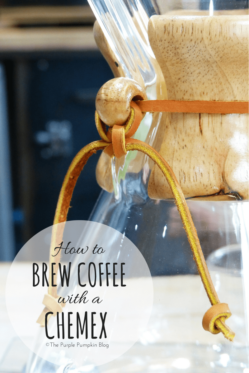 How To Brew Coffee With A Chemex CoffeeMaker
