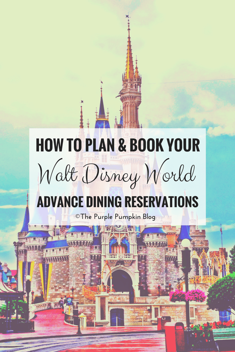 How To Plan & Book Your Disney Advance