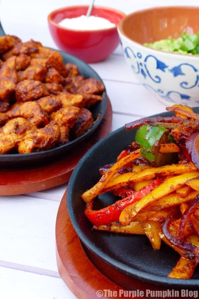 Secret Ingredient Chicken Fajitas