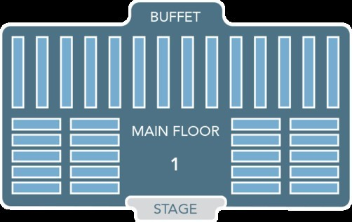 Mickey's Backyard BBQ Seating Plan