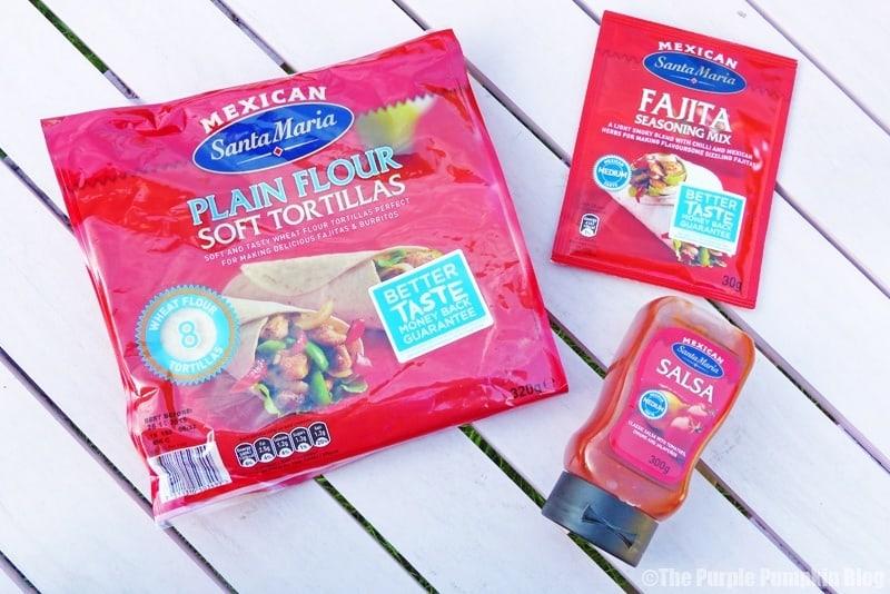 Santa Maria UK Fab Fajita Challenge Products