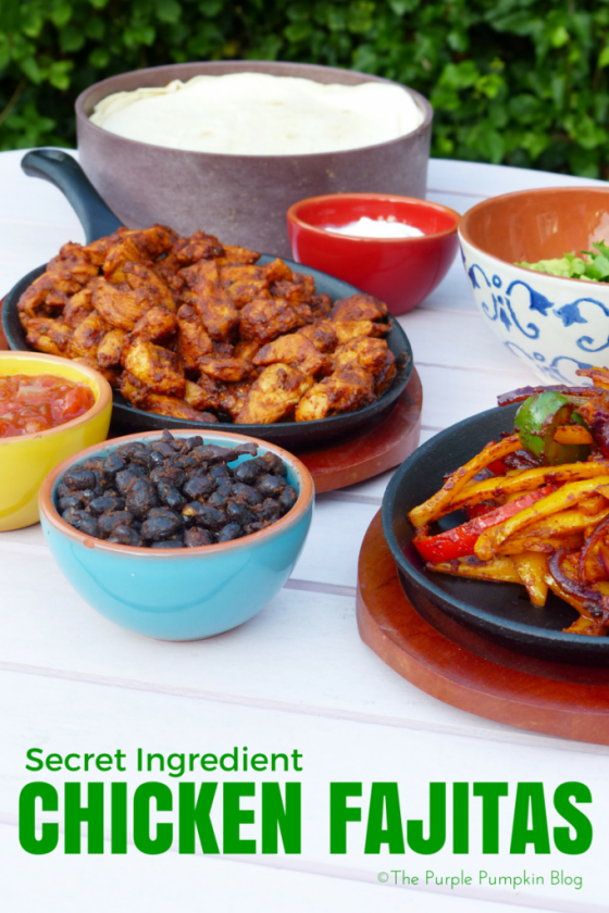 Secret Ingredient Chicken Fajitas