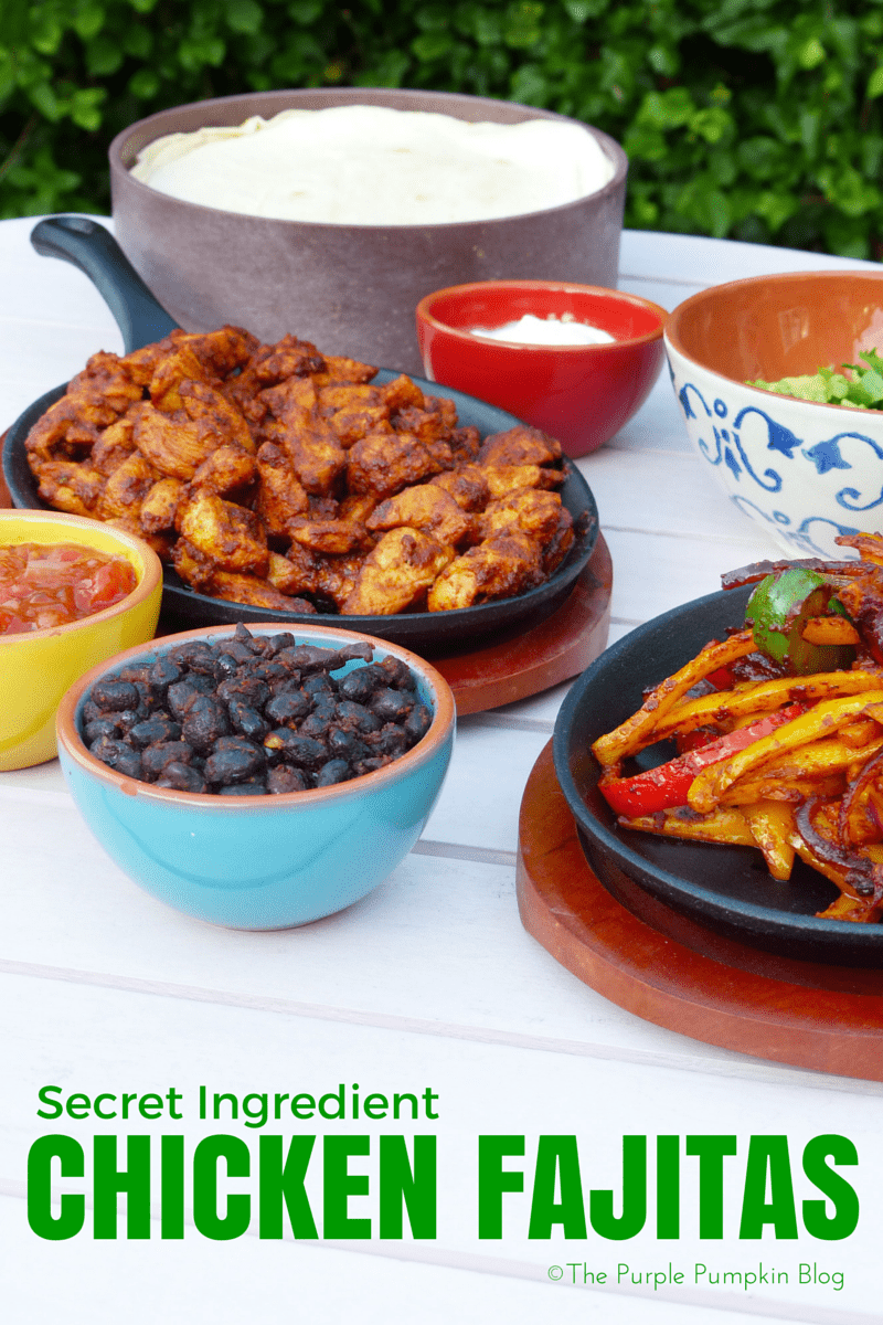 Secret Ingredient Chicken Fajitas! #TASTEsantamaria