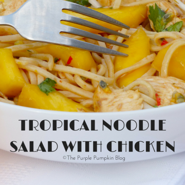 Tropical Noodle Salad with Chicken