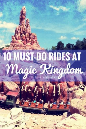 10 Must-Do Rides at Magic Kingdom
