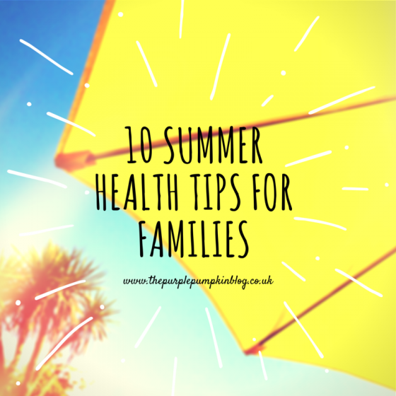 10 Summer Health Tips For Families - Summer is a great time to splash in the sea, dine al fresco, go on long outdoor walks and relax in the sun, but as the mercury rises you must also try to stay as safe as possible. The warmer months can be dangerous for numerous reasons, so check out these 10 summer health tips for families and enjoy the sunny spell in style.