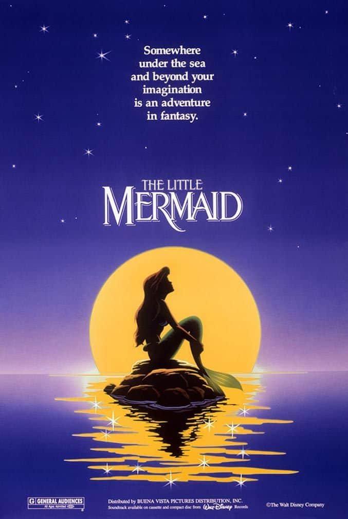 The Little Mermaid - Disney Movie Poster
